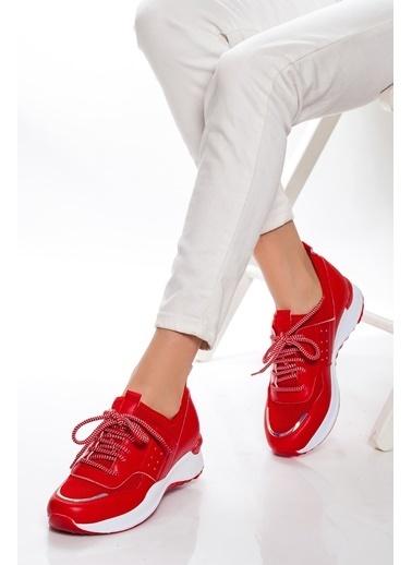 Derithy Sneakers Kırmızı